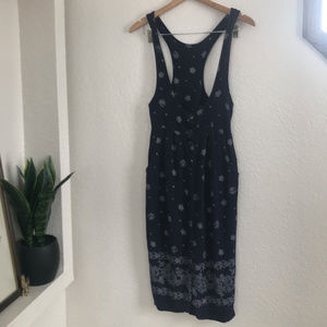Vintage Overall Tank Dress